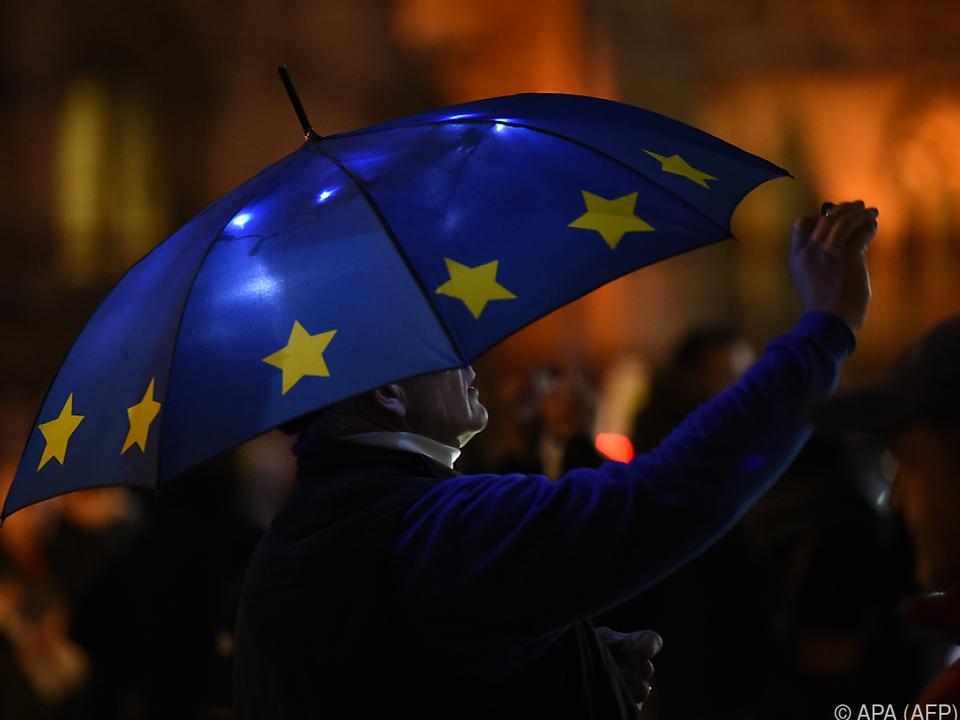 Nur 47 Prozent der Österreicher wollen zur EU-Wahl gehen