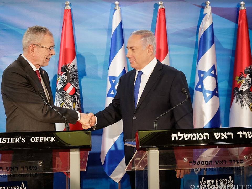 Österreichs Bundespräsident zu Gast bei Israels Premier