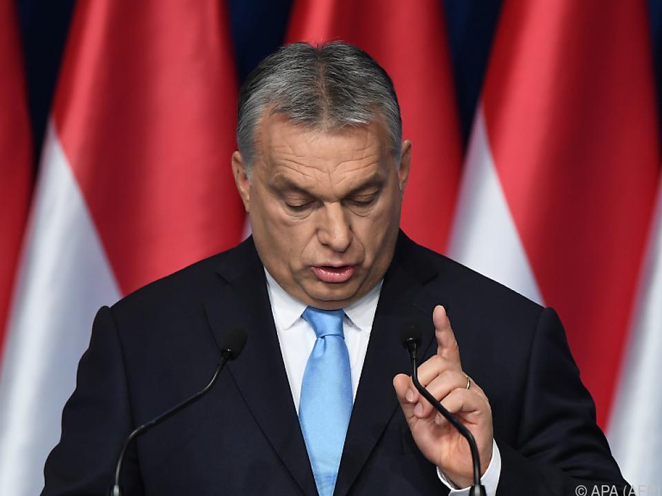 Orban findet ein Kind pro Frau nicht genug