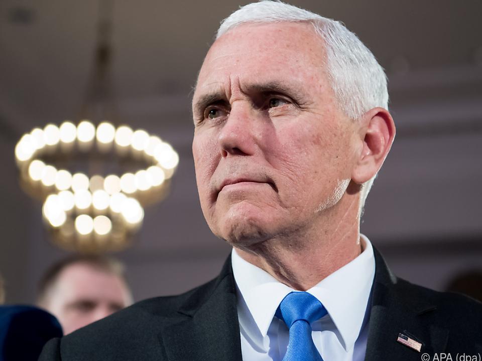 Pence verlieh den John-McCain Preis