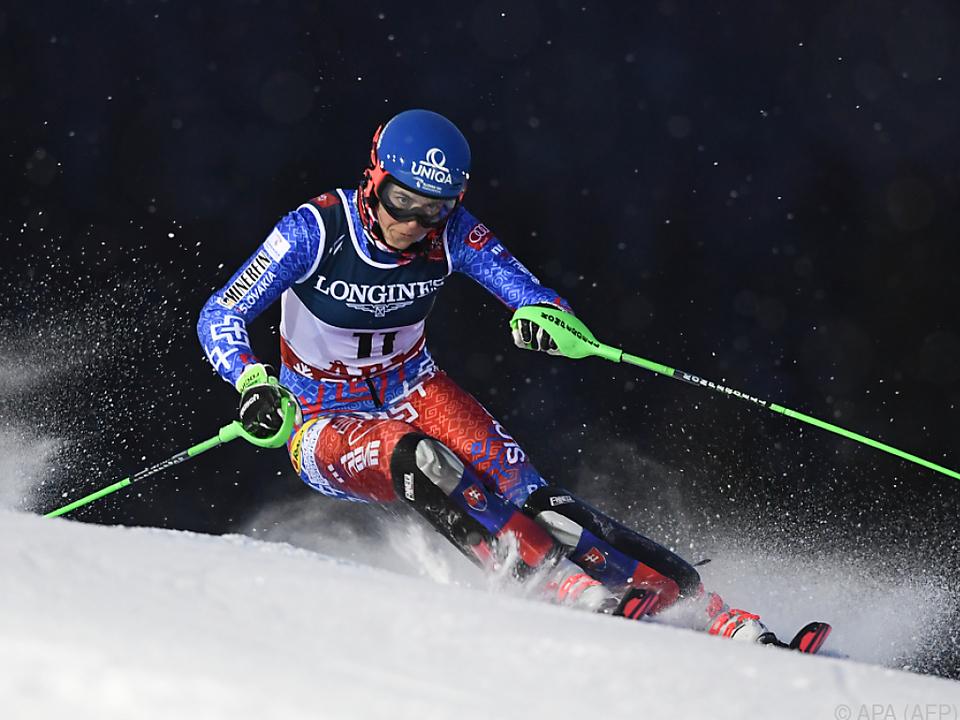Petra Vlhova will weitere Goldene an Land ziehen