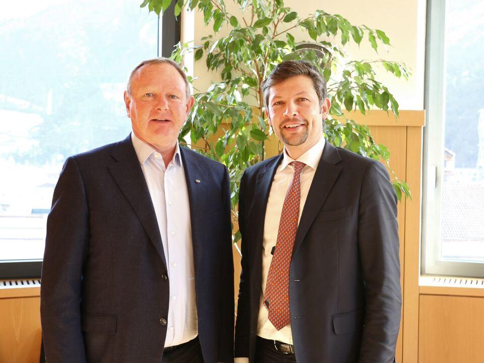 PM HGV traf Landesrat Daniel Alfreider
