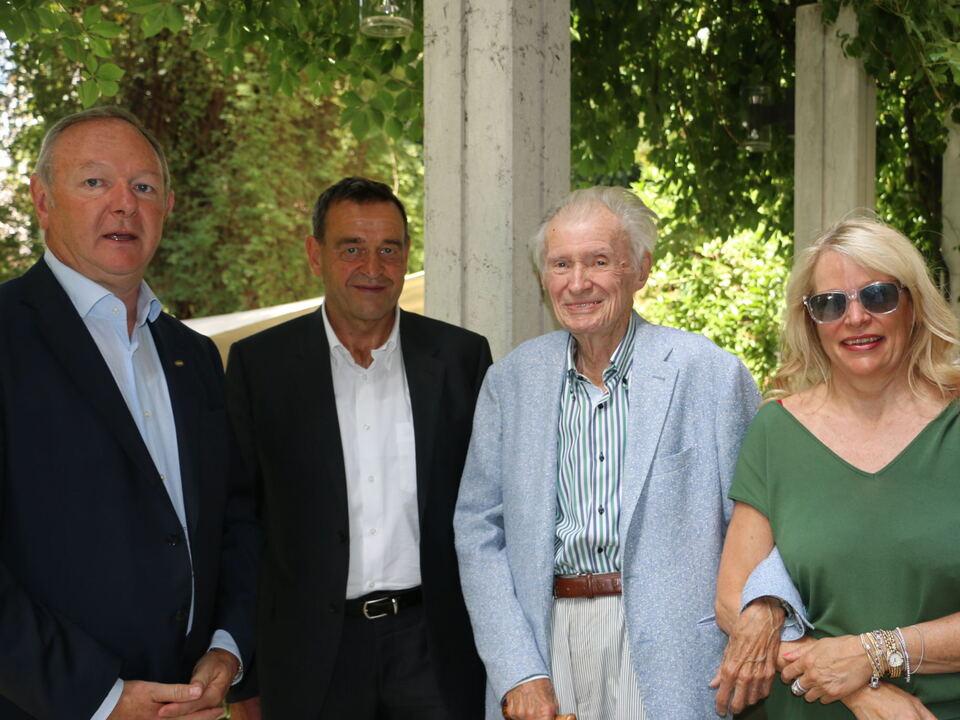 PM HGV trauert um ehemaligen Vizepräsidenten Heinz Mayr