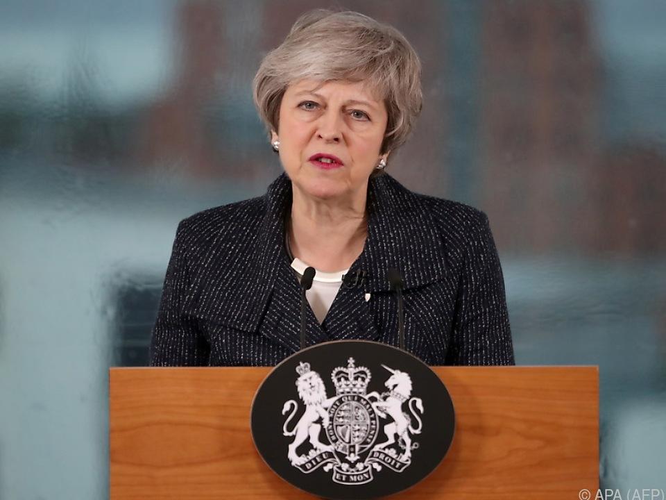 Britische Premierministerin