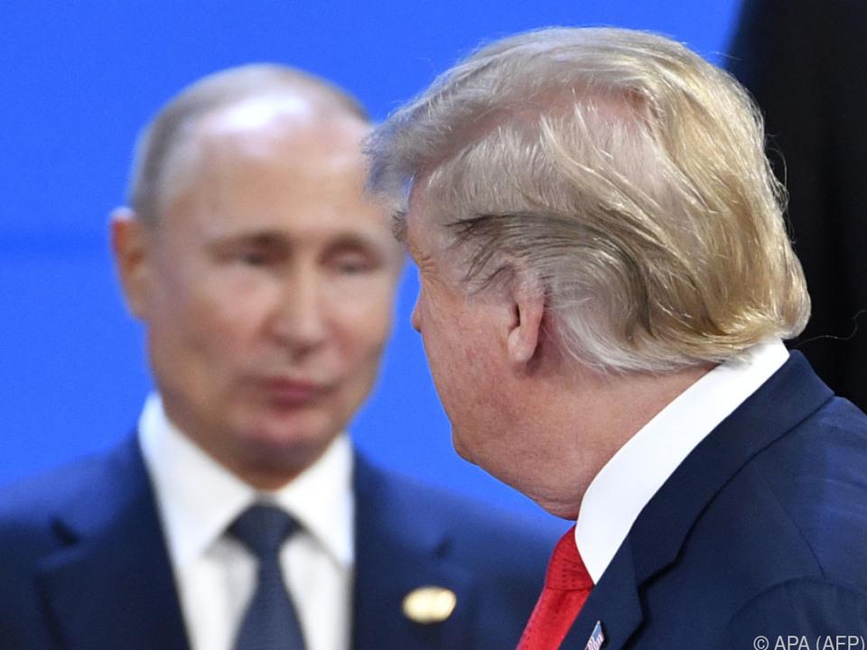 Putin und Trump werden als Unruhepole der Weltpolitik wahrgenommen