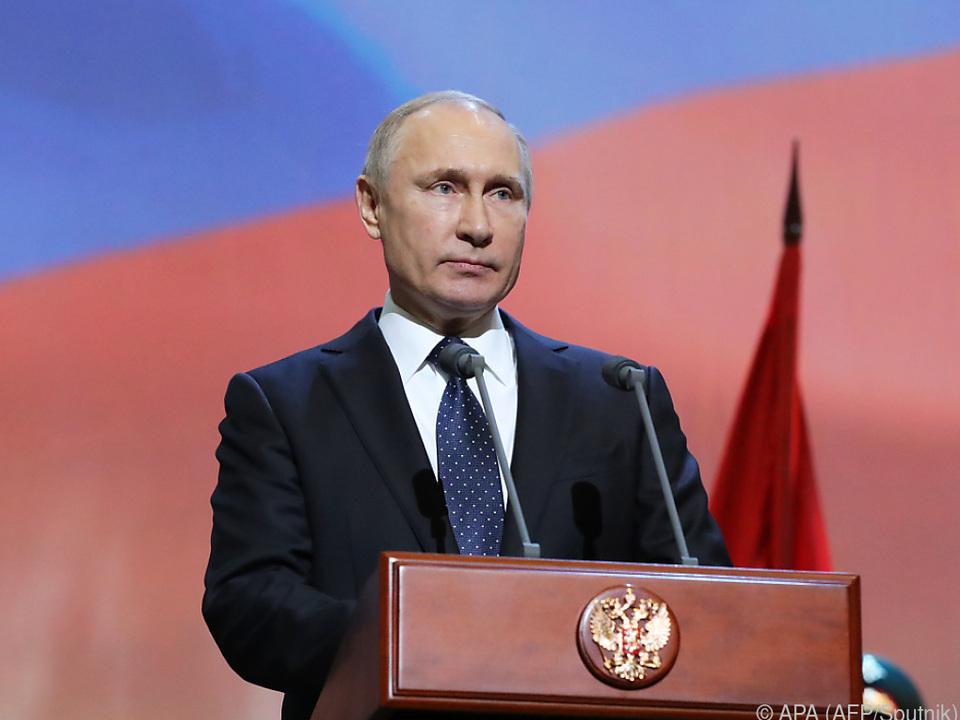 Putin wird aktiv keine Gespräche mit den USA suchen