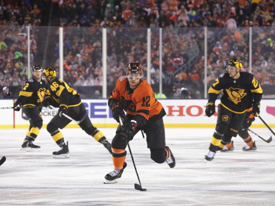 Raffl ist im Moment der einzige fitte NHL-Österreicher