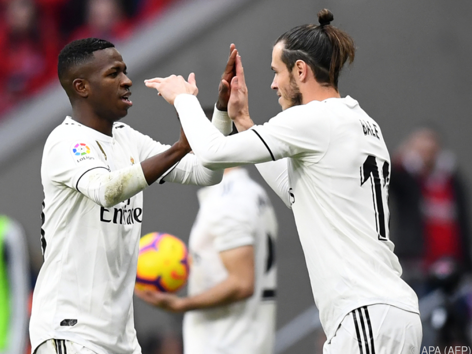 Real Madrid dankte mit Derbysieg Selbstvertrauen