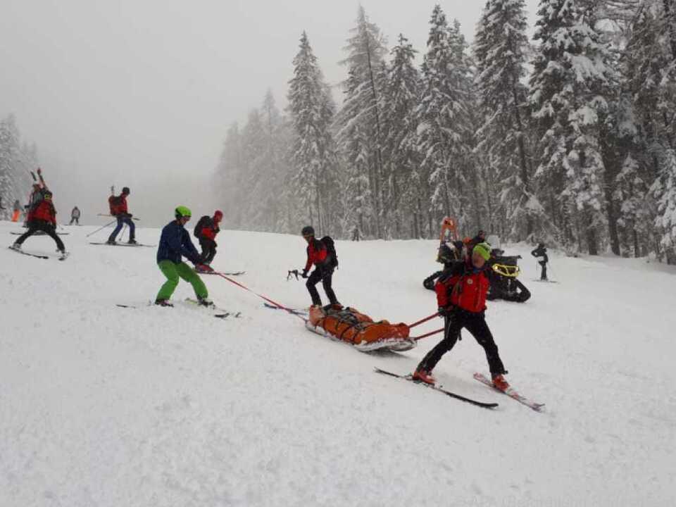Rettungsaktion für verschüttetes Paar in Bad Kleinkirchheim