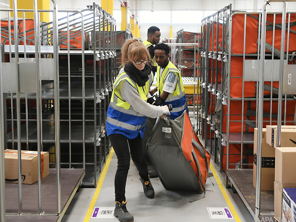 Rund 150 Arbeitsplätze im Verteilzentrum geplant