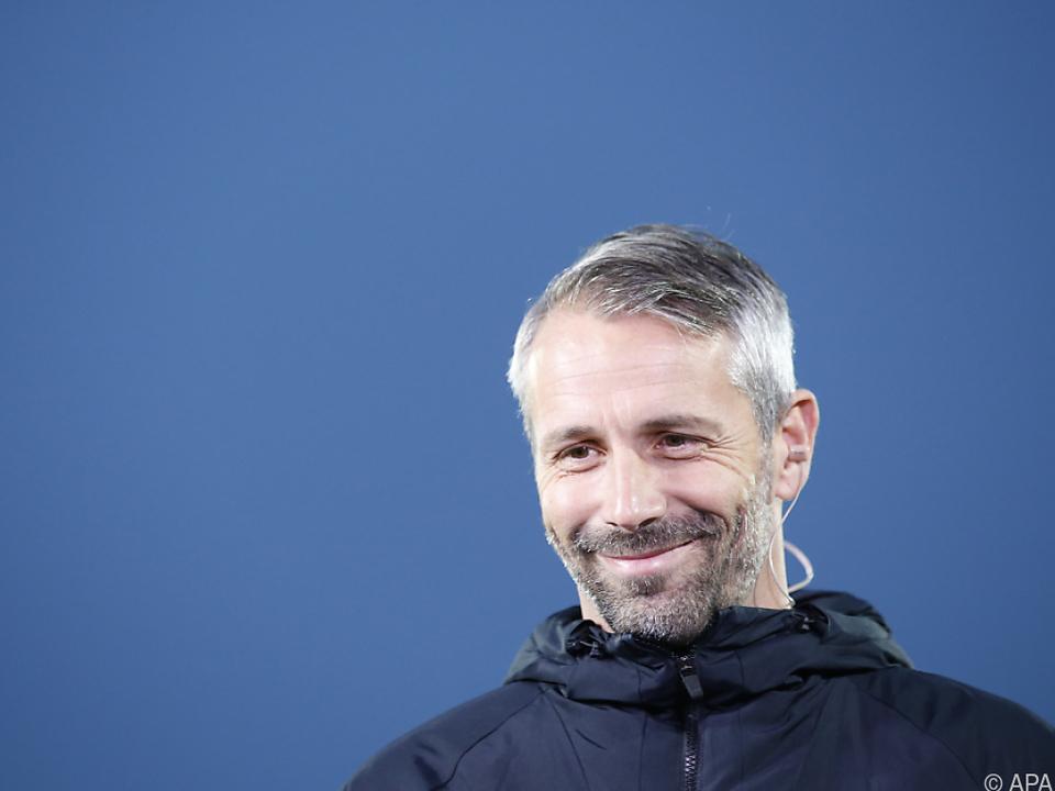 Salzburg-Trainer Marco Rose hofft auf Fortsetzung des Erfolgslaufs