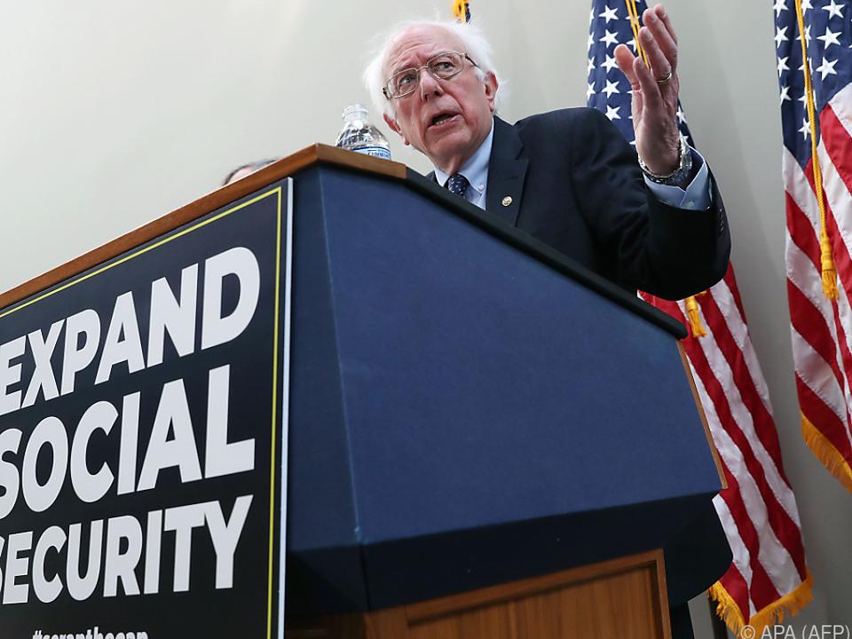Sanders will erneut kandidieren