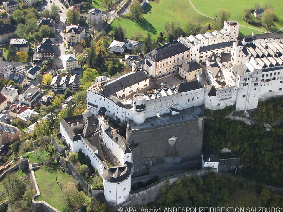 Schäden durch Föhnsturm an der Festung Hohensalzburg