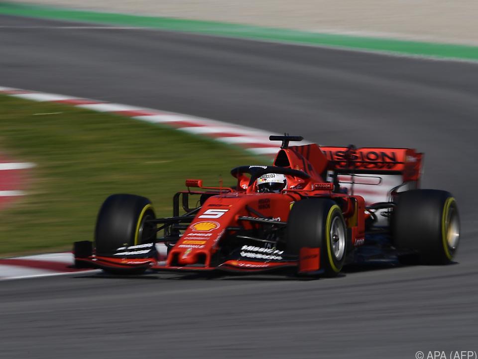 Sebastian Vettel drehte die meisten Runden