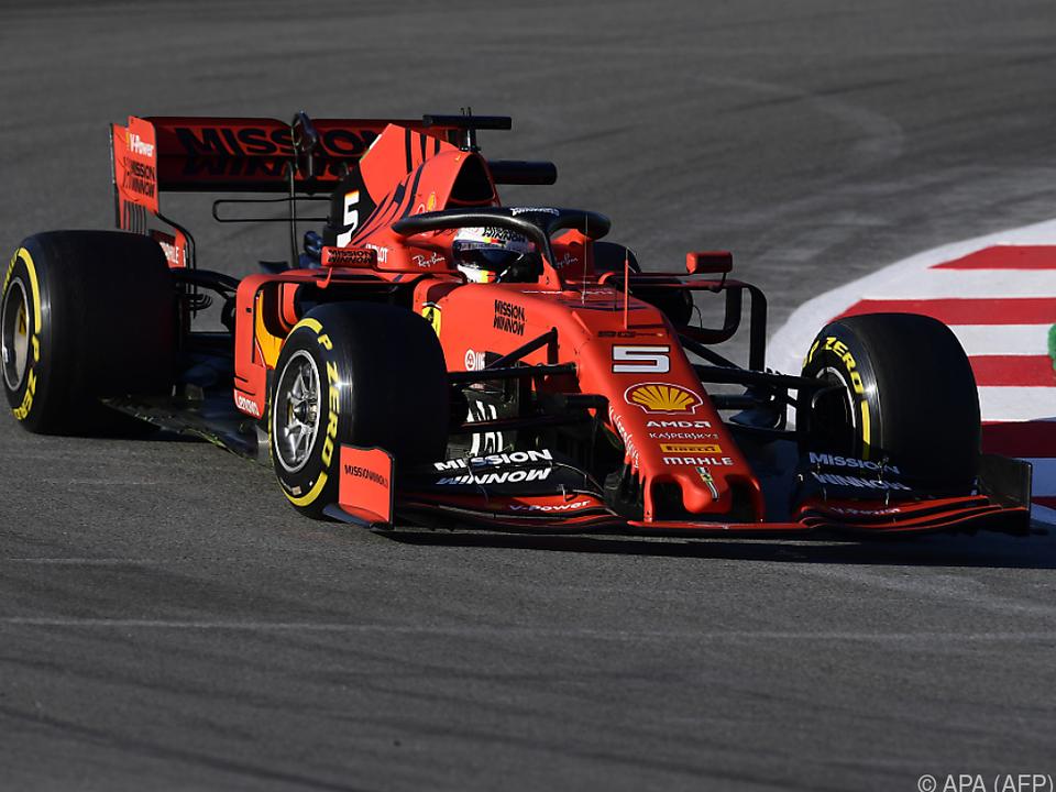 Sebastian Vettel war der Schnellste