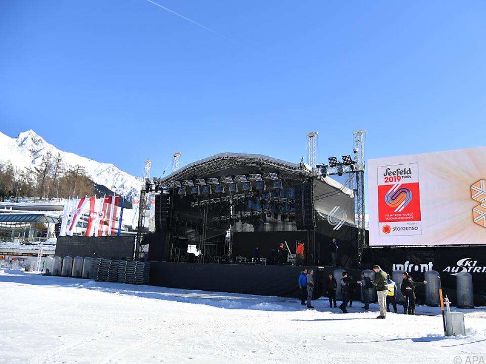 Seefeld ist für die Nordischen Weltmeisterschaften bereit