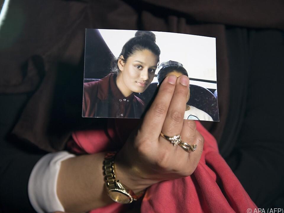 Shamima Begum würde gerne mit ihrer Tochter zurück