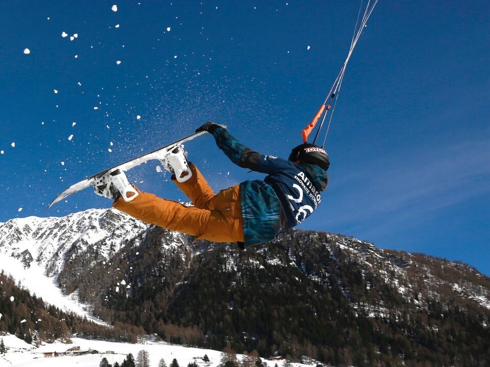 Sieger Freestile snowkite reschen