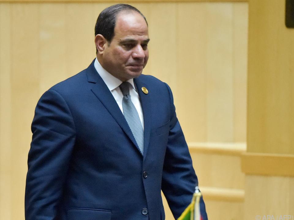 Sisi übernahm den Vorsitz von seinem ruandischen Kollegen