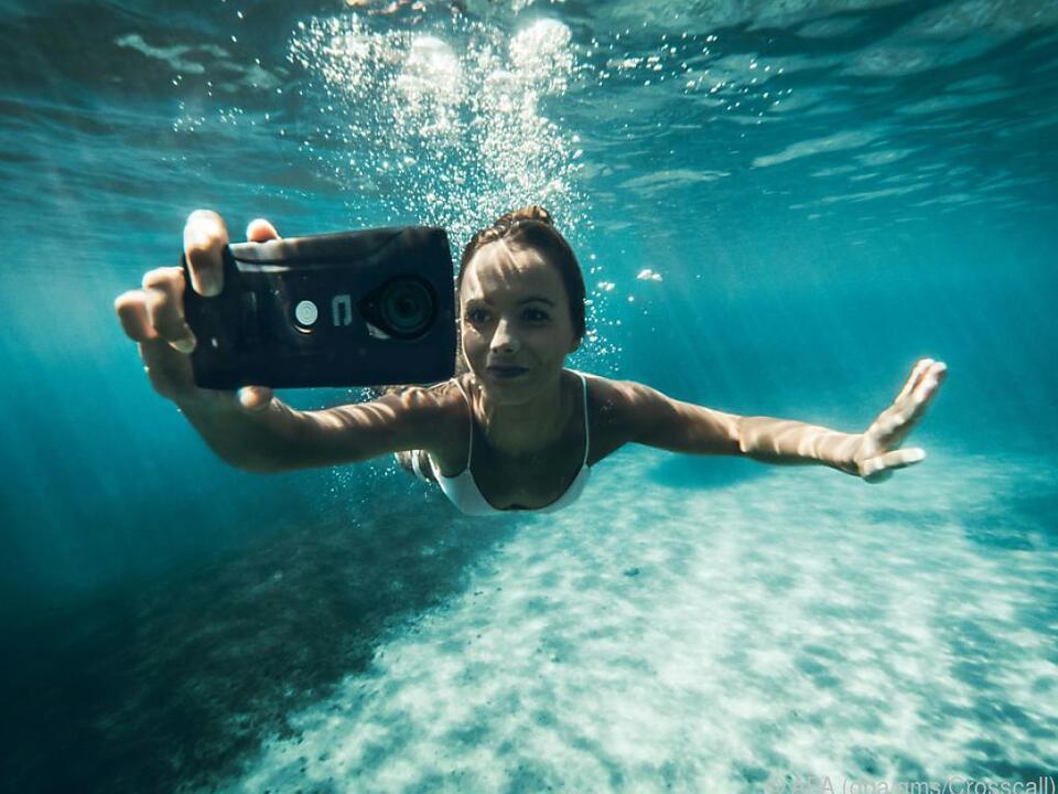 Smartphone und Actioncam in einem ist das Trekker X4 von Crosscall