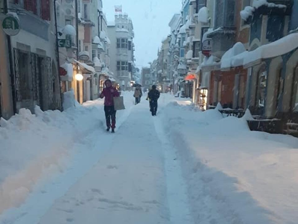 Sterzing Winter Schnee