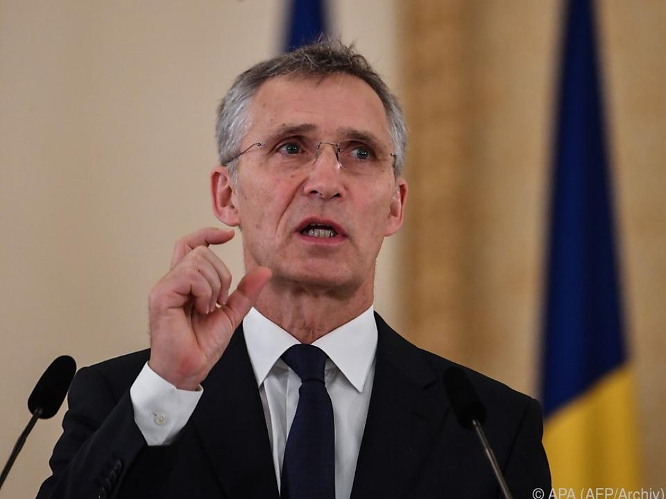 Stoltenberg würdigte die Beilegung des Namensstreits mit Griechenland