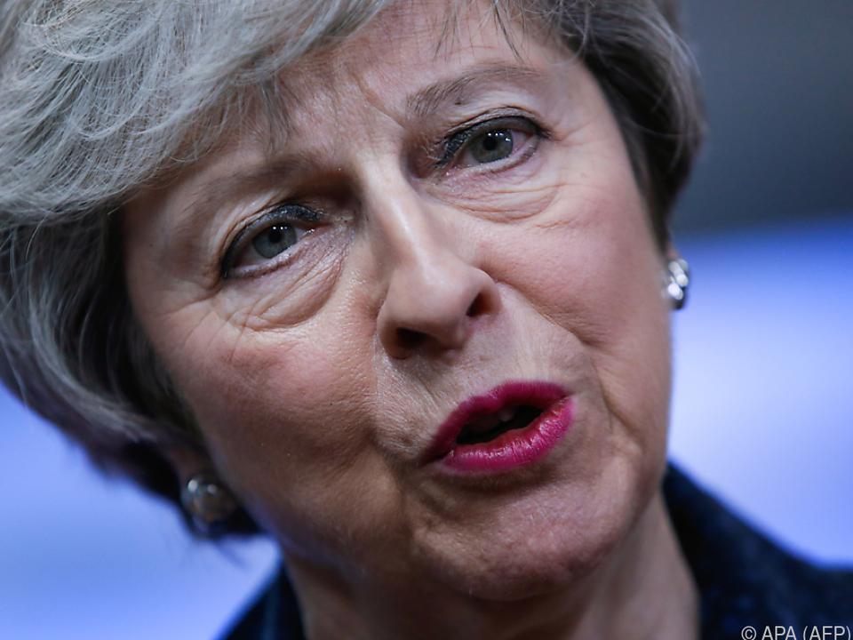 Theresa May sagt \