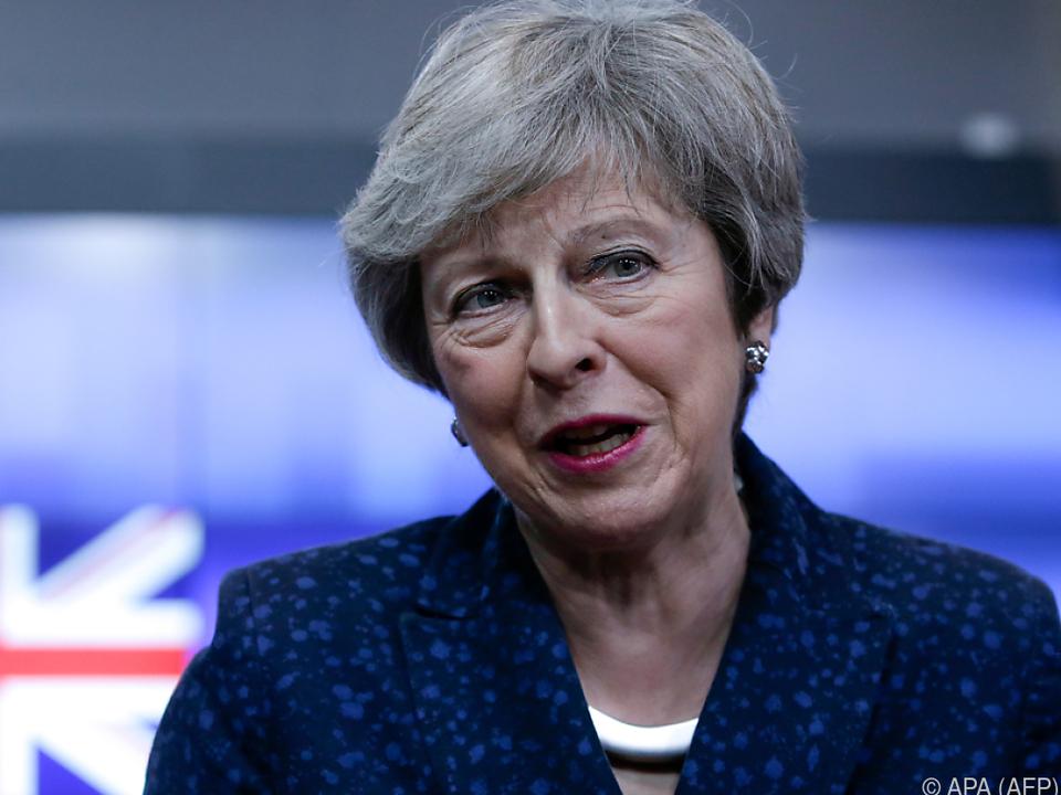 Theresa May steht vor dem nächsten schwierigen Gespräch