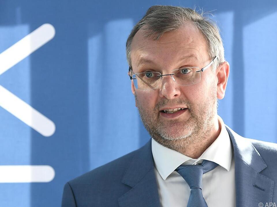 Unternehmenssprecher Thomas Saliger