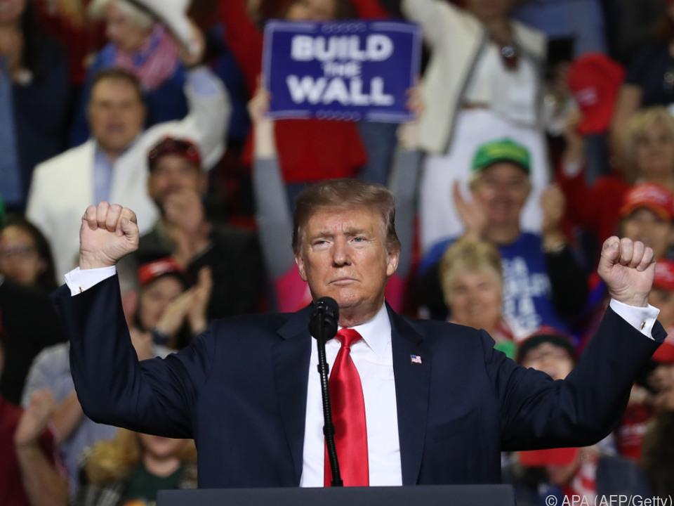 US-Präsident Trump in El Paso