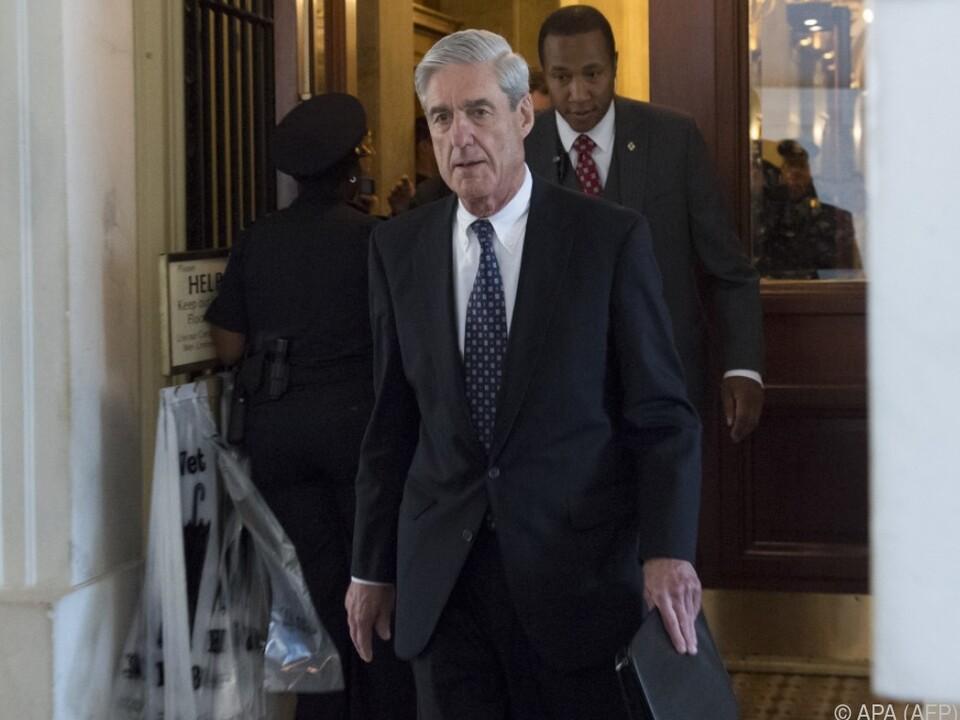 US-Sonderermittler Mueller ist ein viel beschäftigter Mann