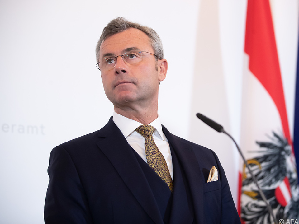 Verkehrsminister Hofer (FPÖ) hat seine Unterstützung kundgetan