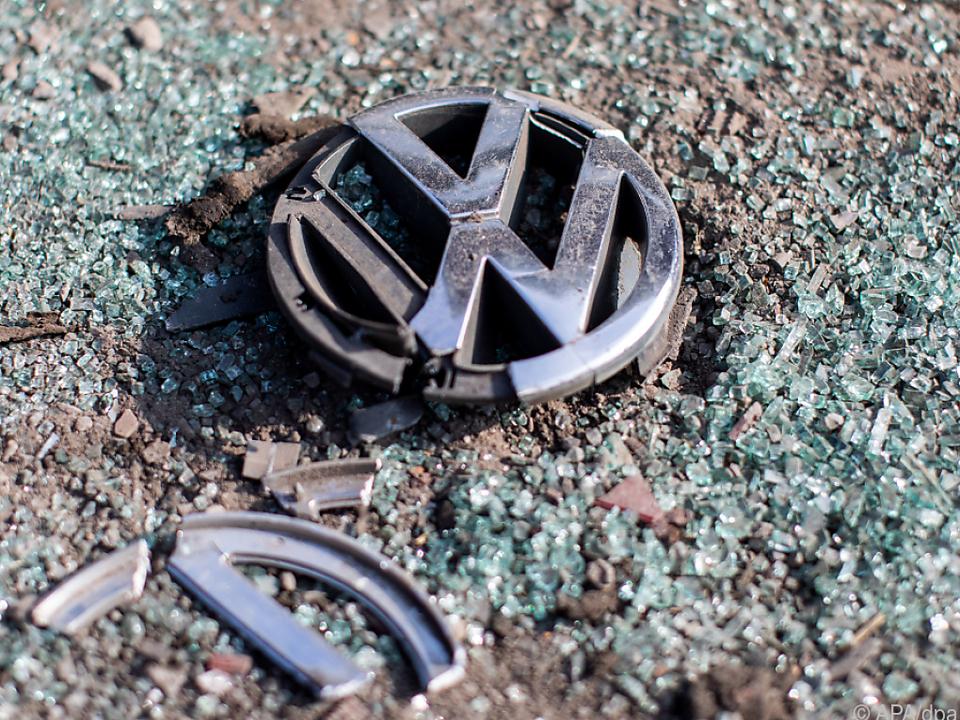 VW hatte zuvor Manipulationen an Dieselmotoren einräumen müssen
