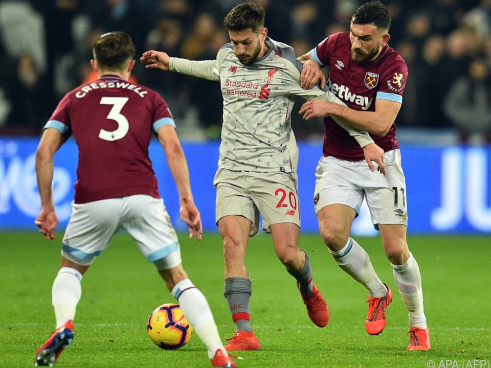 West Ham trotzte Liverpool Punkt ab