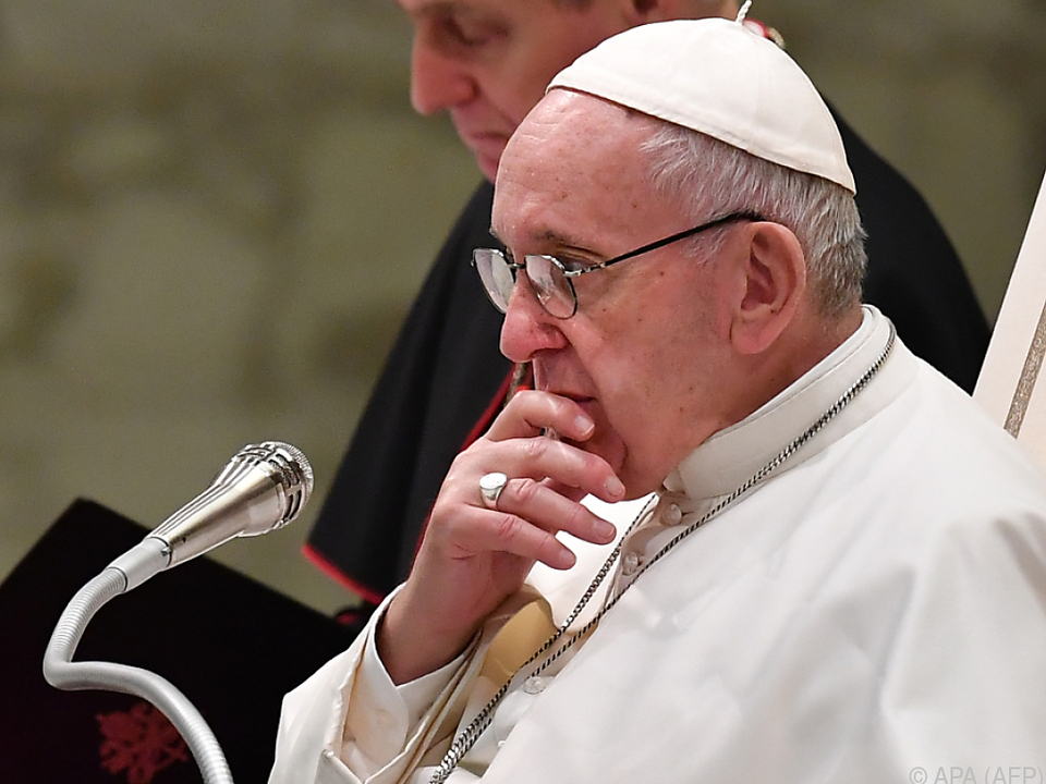 Wird der Papst vegan fasten?