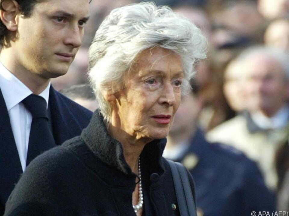 Witwe des Fiat-Patriarchen starb 92-jährig