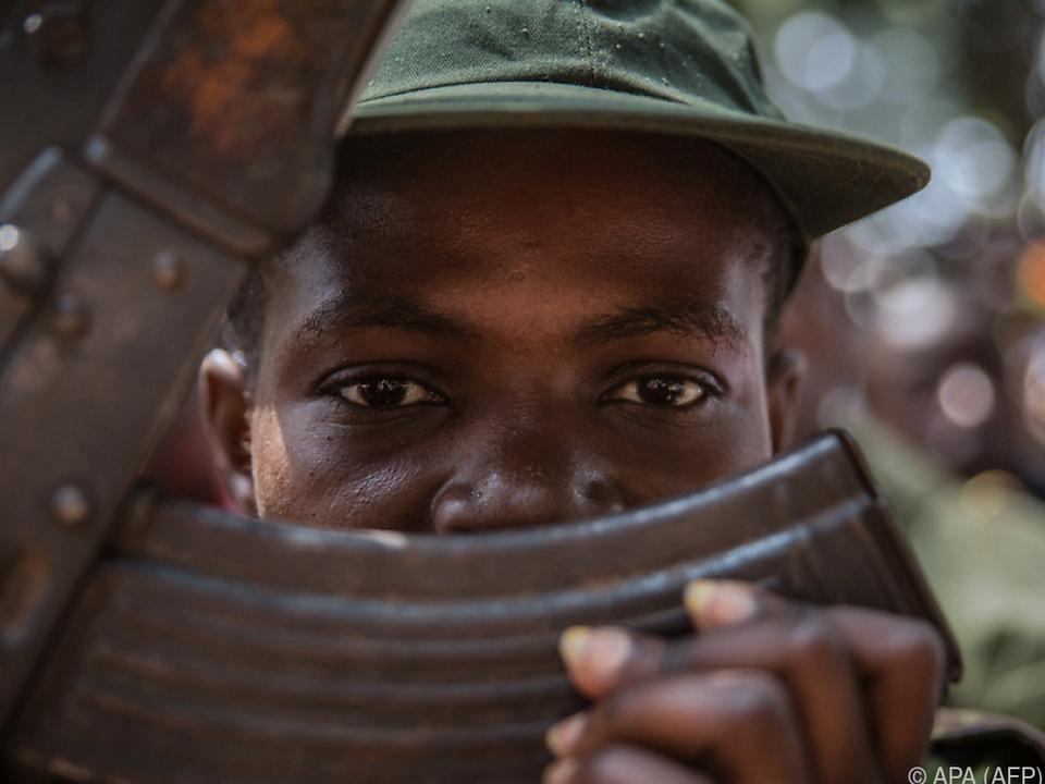 Zehntausende Kinder werden als Soldaten missbraucht