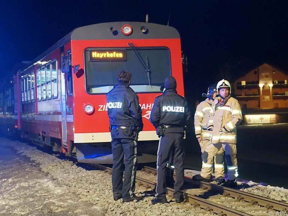 Zugführer musste psychologisch betreut werden