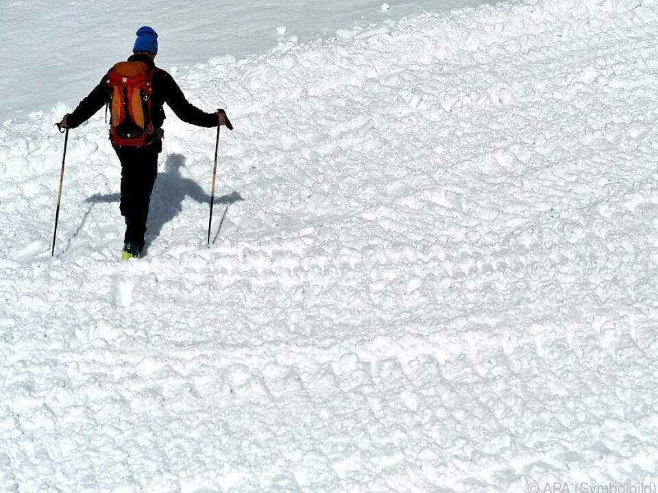 Zweiter Unfall binnen kurzer Zeit im Bezirk Gmunden bergsteiger schnee unfall lawine
