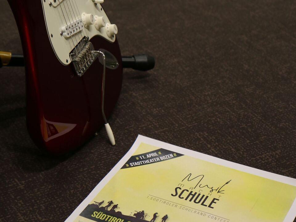 Gitarre Schulband