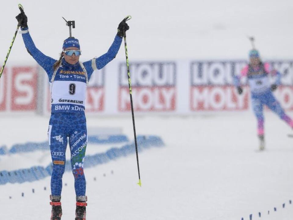 Dorothea Wierer Gold Massenstart WM 2019