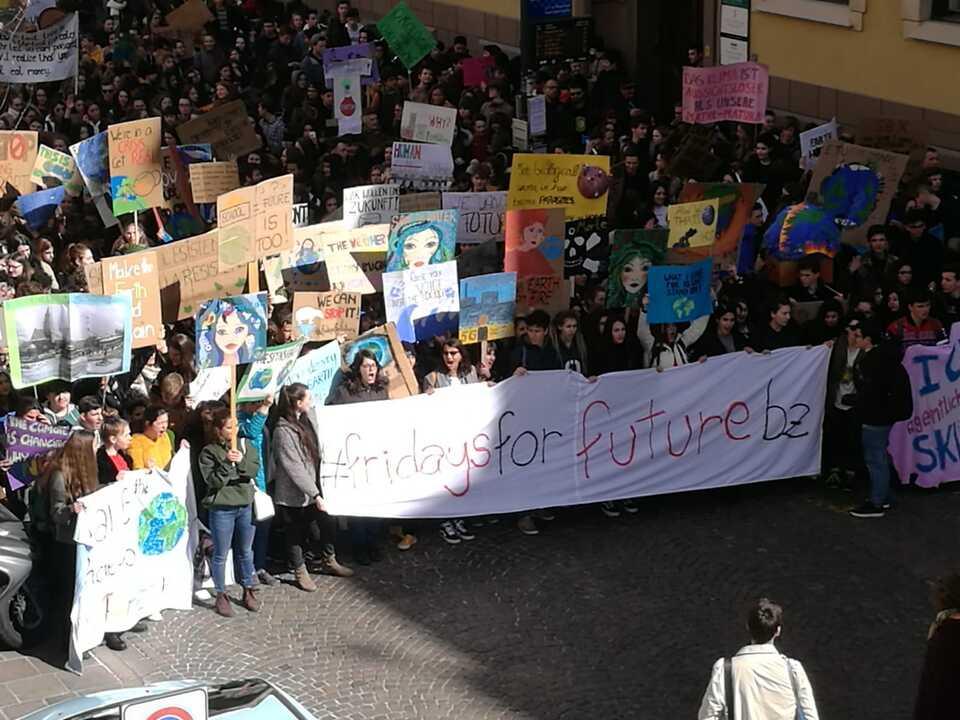 Schüler Protest klima
