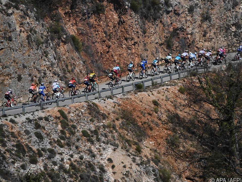 7. Etappe beim Radrennen Paris-Nizza