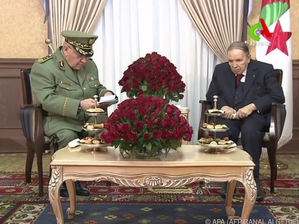 Abdelaziz Bouteflika ist bereits 82 Jahre alt und schwer krank