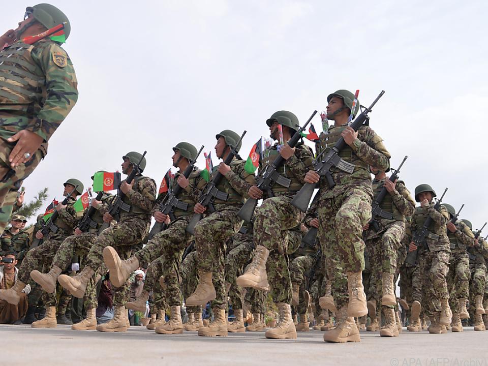 Afghanische Soldaten als Angriffsziel der Taliban