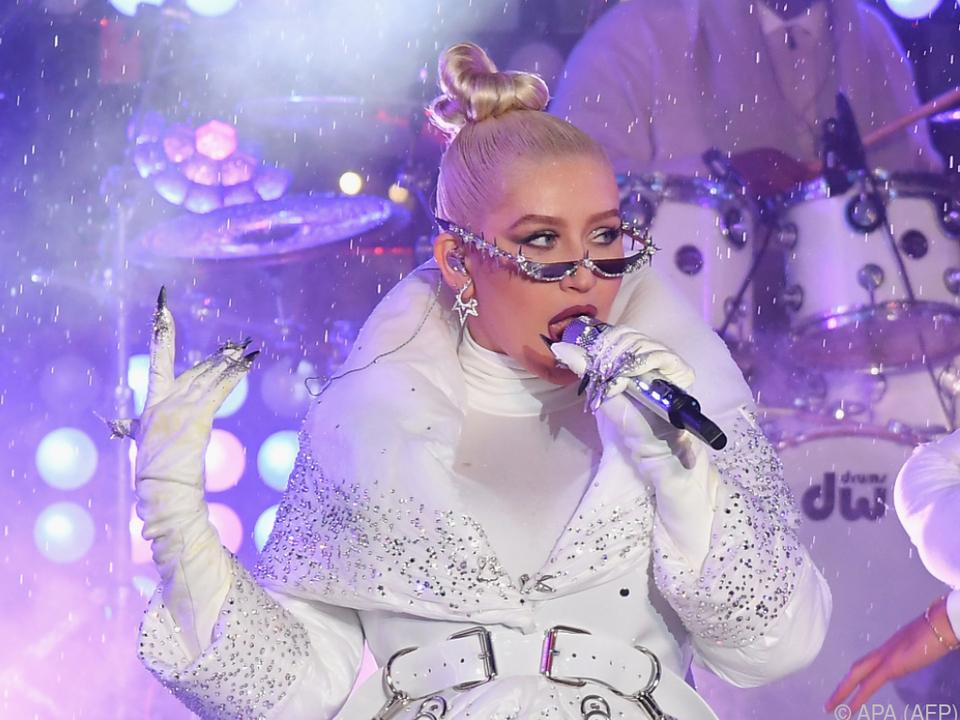 Aguilera geht mit ihren Kindern gerne auf Tour