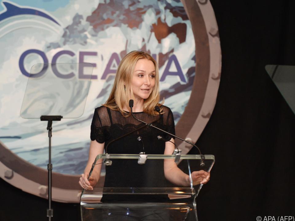 Alexandra Cousteau setzt sich für verantwortungsvollen Fischkonsum ein