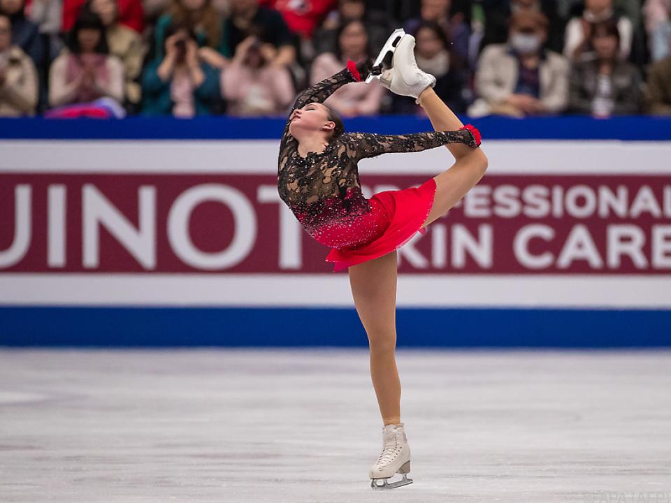 Alina Sagitowa schon als 16-Jährige zu Gold
