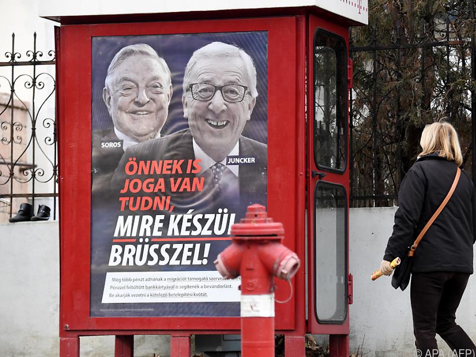 Anti-Juncker-Plakate sorgten für Aufregung