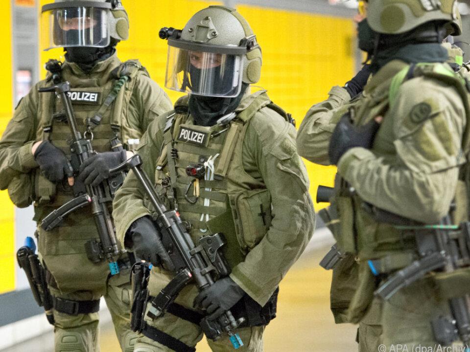 Antiterroreinheiten verhinderten anscheinend Anschlag